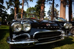 1960s Corvette Stingray on display in Bend Oregon