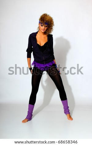 80s Fashion Pictures Women s Fashion woman over gray