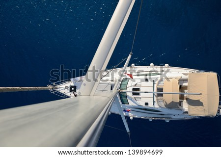 Sailing.Yachting concept
