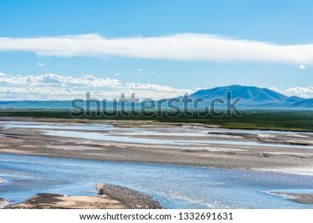Sanjiangyuan Nature Reserve, the highest elevation natural wetland, Tibet, China #1332691631