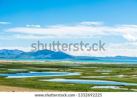Sanjiangyuan Nature Reserve, the highest elevation natural wetland, Tibet, China #1332692225