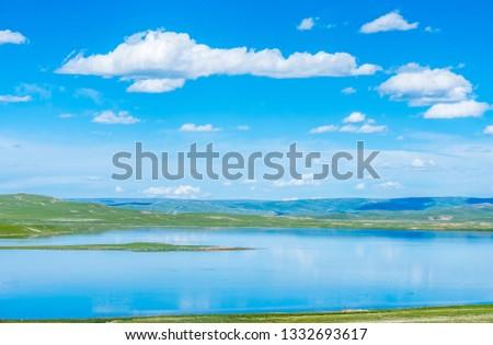 Sanjiangyuan Nature Reserve, the highest elevation natural wetland, Tibet, China #1332693617