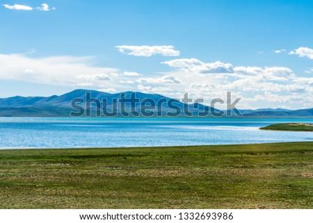 Sanjiangyuan Nature Reserve, the highest elevation natural wetland, Tibet, China #1332693986