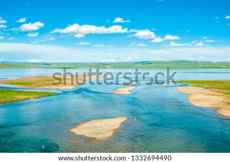 Sanjiangyuan Nature Reserve, the highest elevation natural wetland, Tibet, China #1332694490