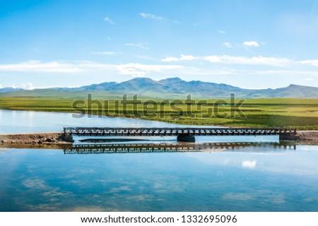 Sanjiangyuan Nature Reserve, the highest elevation natural wetland, Tibet, China #1332695096