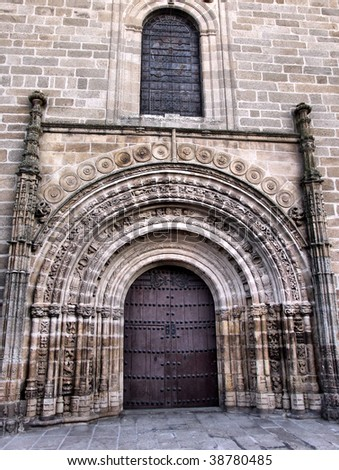 Santa Maria la Mayor de la Asuncion portal