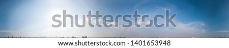 360 Seamless Cloudy Sky Panorama in Spherical (Equirectangular) format - Bangkok Thailand #1401653948