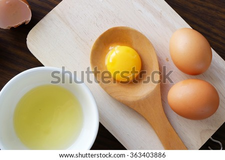 Shutterstock  separated egg white and yolk