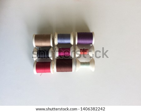 Sewing thread is one of the garment accessories. There are many color and many size.