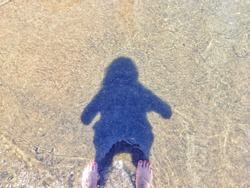 Shadow People~ Myself in the Cahaba River