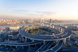 Shanghai China's cross-river bridge