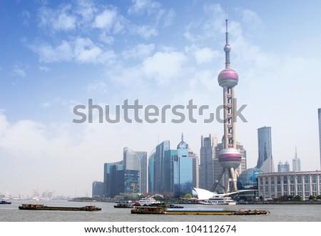2012 Shanghai skyline