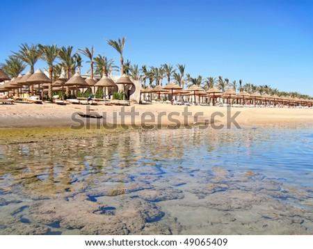 Sharm El Sheikh on Sinai peninsula.