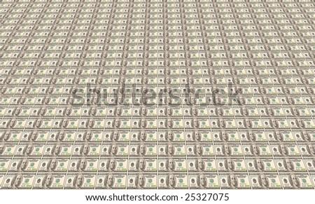 100$ sheet