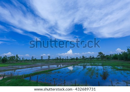 sky , clouds , Landscape , Backgrounds #432689731