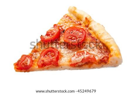 slice of margarita pizza