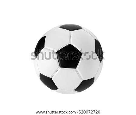 soccer ball on isolated.  #520072720