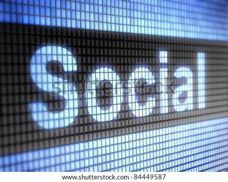 """Social"" on screen