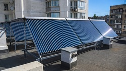 solar collector for high water temperature