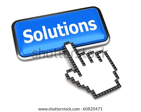 Solution button and hand cursor
