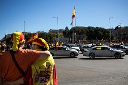 Spanish nationalist demonstration in Madrid