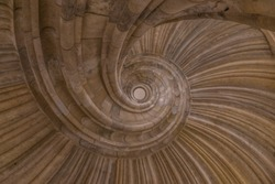 spiral staircase castle Germany