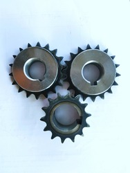 Sprocket one side hub extension B-type.spare parts,Industrial plant,engineering,illustration.white background,isolated.