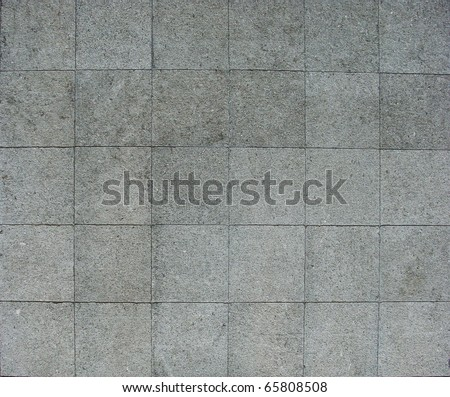 30 square pavement tiles in blue gray stone concrete