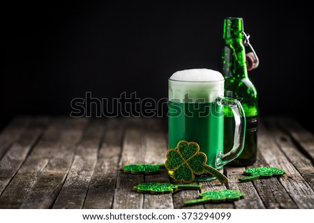St. Patrick's day holiday celebration, lucky concept