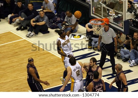 1st round of NBA playoffs game – season 2006.