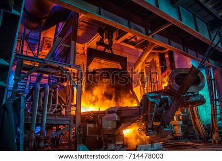 Steel-making workshop #714478003