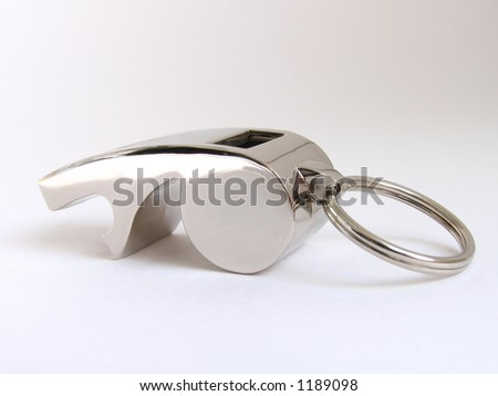 steel referee's whistle #1189098