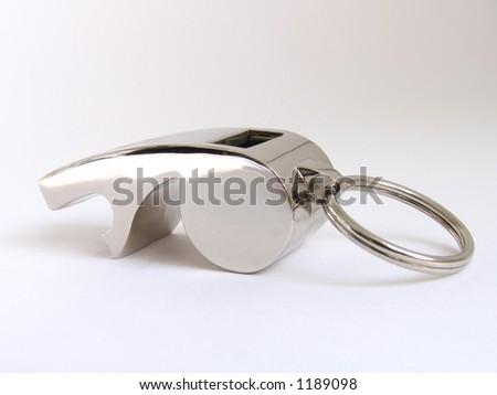 steel referee's whistle - Shutterstock ID 1189098