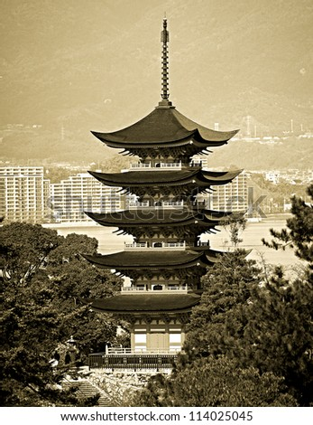 5-Storey Pagoda in Miyajima