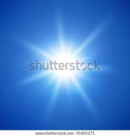 sunlight - stock photo