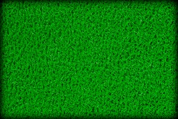 Surface of green rubber swimming pool mat