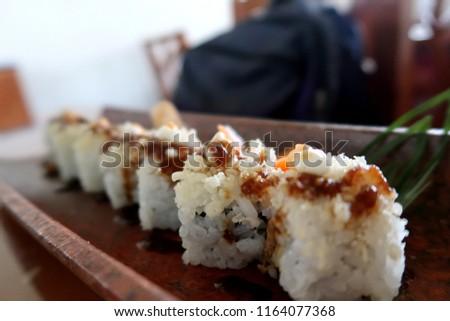 sushi japanese food             #1164077368