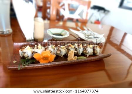 sushi japanese food             #1164077374