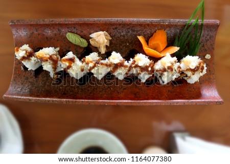 sushi japanese food             #1164077380