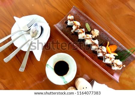 sushi japanese food             #1164077383