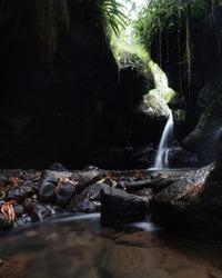 Swallow's Nest Water Fall in Lombok