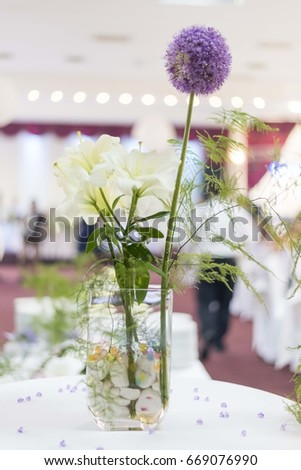 table flower decoration #669076990