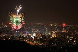 2009 Taipei101 firework show