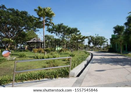 Taman Pandan Wilis Nganjuk City, neatly arranged for family vacation facilities (nganjuk, november 11th 2019)                              #1557545846