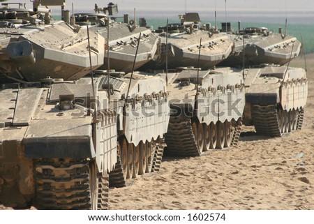 tanks - stock photo