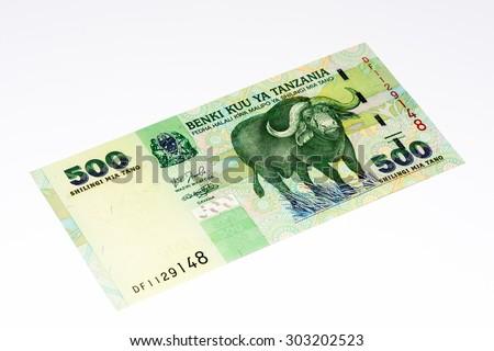500 Tanzanian Shillings Bank Note Tanzanian Shilling Is The