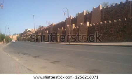 Taourirt Kasbah ouarzazate morocco #1256216071