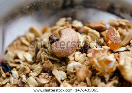 tasty and tasty oat muesli