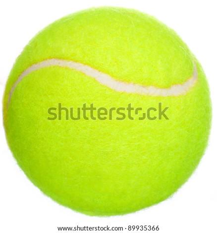 Tennis. A ball.