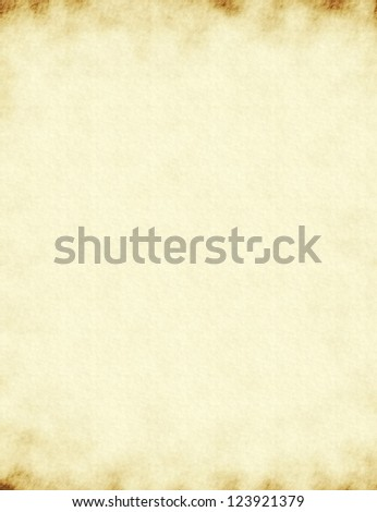 texture light yellow old paper background